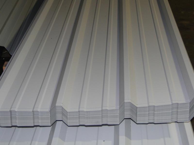 White Metal Roofing Amp Siding